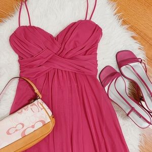 B. Darlin Pink Short Dress